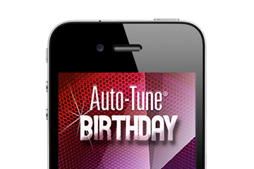 Auto-tune Birthday